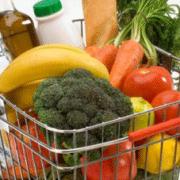 Milk, Fruits and Veggies