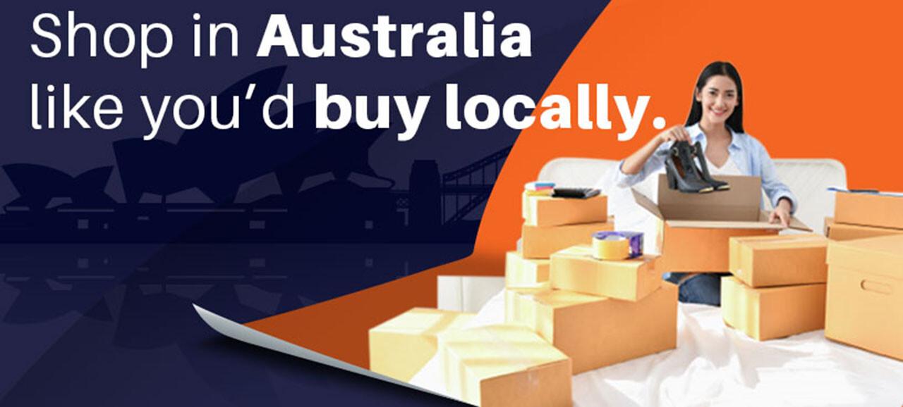 shop in Australia like you buy locally